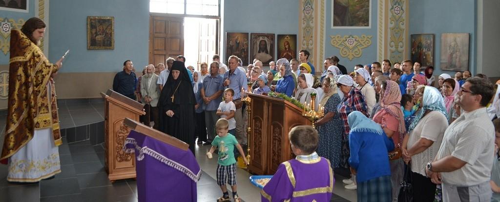 Праздник Изнесения Креста Господня