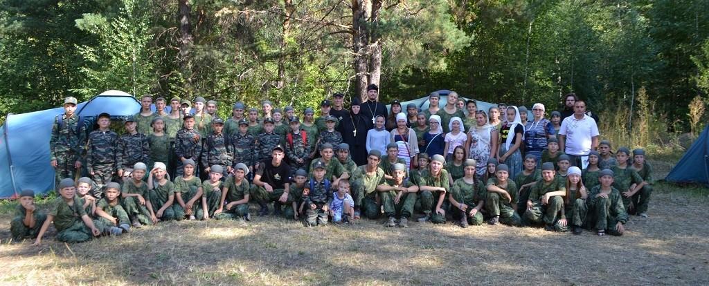 Воспитанники Воскресных школ г. Бирска посетили лагерь ВПЦ «Вымпел»