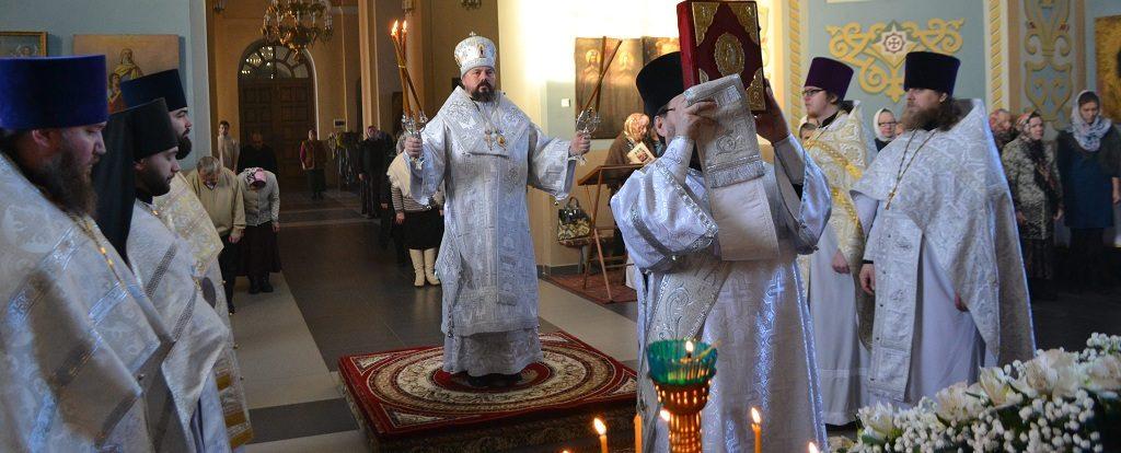 В праздник Собора Предтечи и Крестителя Господня Иоанна Преосвященный епископ Илия возглавил Божественную литургию в монастыре